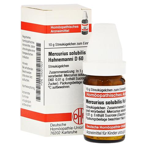 MERCURIUS SOLUBILIS Hahnemanni D 60 Globuli 10 Gramm N1