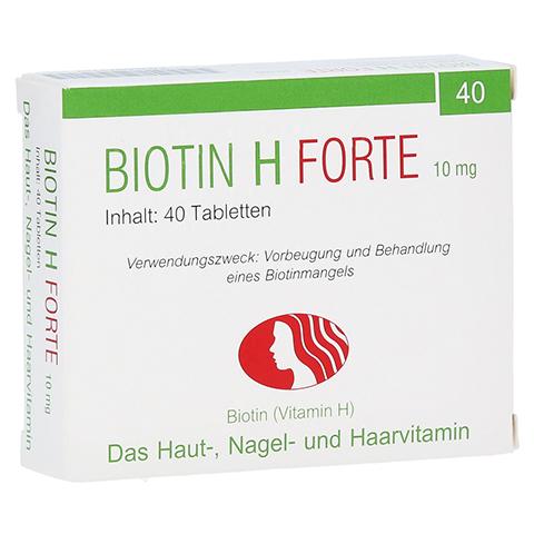 Biotin H forte 10mg 40 Stück