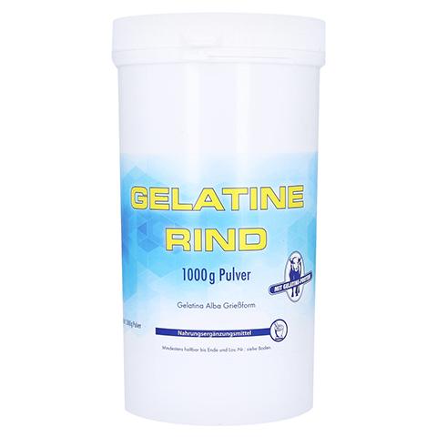 GELATINE Rind Pulver Beutel 1000 Gramm