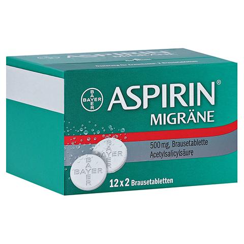 Aspirin Migräne 24 Stück