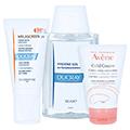 DUCRAY MELASCREEN Photoaging UV Cr.reichha.SPF 50+ + gratis Avène Hygiene-Set 40 Milliliter