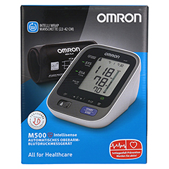 Omron M500 Oberarm Blutdruckmessgerät HEM-7321-D 1 Stück - Vorderseite