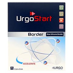 URGOSTART Border 8x8 cm Schaumstoffwundverband 10 Stück - Vorderseite