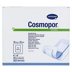 COSMOPOR steril 15x15 cm 25 Stück - Vorderseite