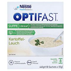 Optifast home Suppe Kartoffel-Lauch 8x53 Gramm - Vorderseite