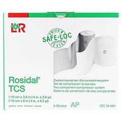 ROSIDAL TCS UCV 2-Komp.Kompressionssystem 6x2 6 Stück - Vorderseite