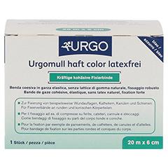 URGOMULL haft color latexfrei 6 cmx20 m blau 1 Stück - Vorderseite