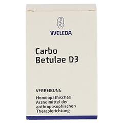CARBO BETULAE D 3 Trituration 50 Gramm N2 - Vorderseite