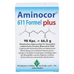AMINOCOR 611 Formel plus Kapseln 90 Stück - Vorderseite