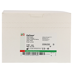 CELLONA Synthetikwatte 6 cmx3 m steril 8 Stück - Vorderseite