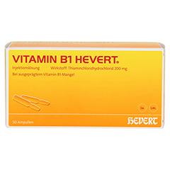 VITAMIN B1 Hevert Ampullen 50 Stück - Vorderseite