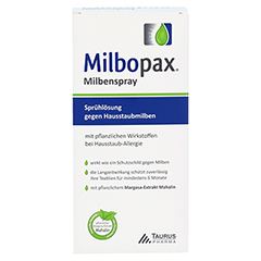 MILBOPAX Milbenspray Sprühlösung 500 Milliliter - Vorderseite