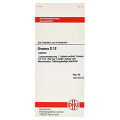 DROSERA D 12 Tabletten 200 Stück N2 - Vorderseite