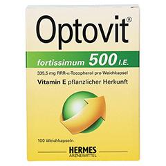 OPTOVIT fortissimum 500 Kapseln 100 Stück - Vorderseite
