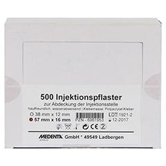 INJEKTIONSPFLASTER 16x57 mm 500 Stück - Vorderseite