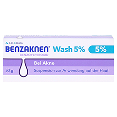 Benzaknen Wash 5% 50 Gramm N2 - Vorderseite