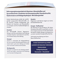 GELENKNAHRUNG+Hyaluronsäure Trinkgranulat 30x15 Gramm - Linke Seite
