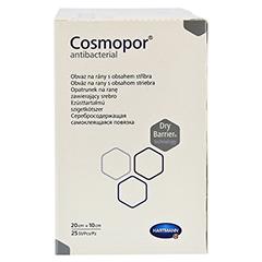 COSMOPOR Antibacterial 10x20 cm 25 Stück - Linke Seite