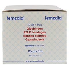 GIPSBINDE Temedia spezial 12 cmx3 m 10 Stück - Linke Seite