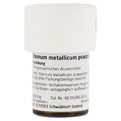STANNUM METALLICUM praeparatum D 12 Trituration 20 Gramm N1 - Linke Seite