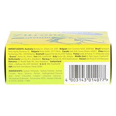KAPPUS frische Zitrone Seife 125 Gramm - Unterseite
