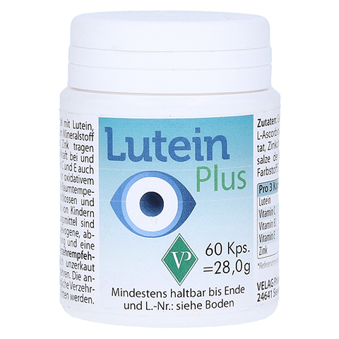 LUTEIN 6 mg plus Kapseln 60 St�ck