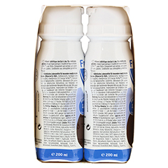 FRESUBIN 2 kcal Fibre DRINK Schokolade Trinkfl. 4x200 Milliliter - Rechte Seite