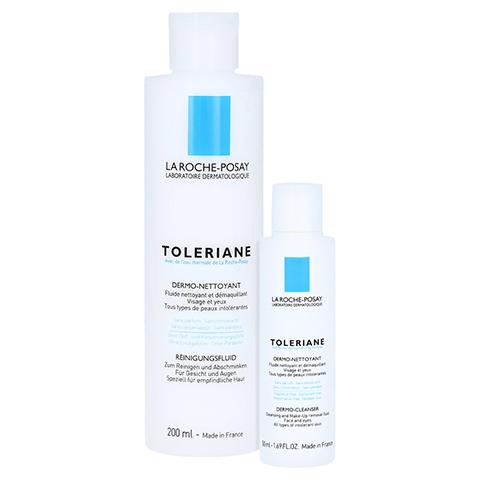La Roche-Posay Toleriane Reinigungsfluid + gratis La Roche Posay Mizellenwasser Reactive Skin 50 ml 200 Milliliter