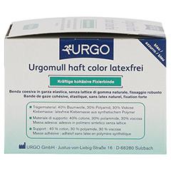 URGOMULL haft color latexfrei 6 cmx20 m blau 1 Stück - Rechte Seite