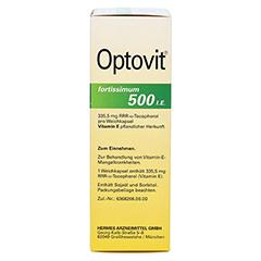 OPTOVIT fortissimum 500 Kapseln 100 Stück - Rechte Seite