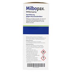 MILBOPAX Milbenspray Sprühlösung 500 Milliliter - Rechte Seite