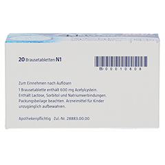 ACC akut 600mg Hustenlöser + gratis Handdesinfektionslotion ACC akut 20 Stück N1 - Rückseite