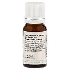 ZINCUM ISOVALERIANICUM D 12 Globuli 10 Gramm N1 - Rückseite