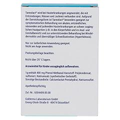 Tannolact 40% Badezusatz Beutel 10x10 Gramm N1 - Rückseite
