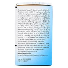 LYMPHOMYOSOT Tabletten 250 Stück N2 - Rückseite