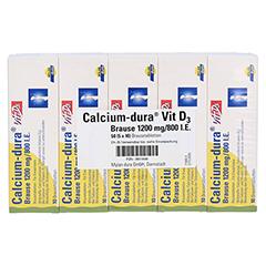 Calcium-dura Vit D3 Brause 1200mg/800 I.E. 50 Stück N2 - Rückseite