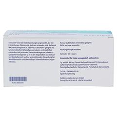 Tannolact 40% Badezusatz Beutel 40x10 Gramm - Unterseite