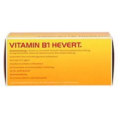 VITAMIN B1 Hevert Ampullen 50 Stück - Unterseite