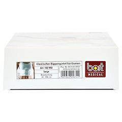 BORT elastischer Rippengurt Damen L weiß 1 Stück - Unterseite