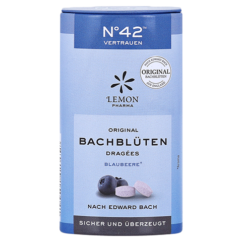 BACHBLÜTEN No.42 Vertrauen Dragees nach Dr.Bach 21 Gramm