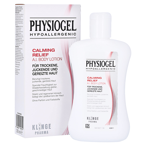 PHYSIOGEL Calming Relief A.I.Body Lotion 200 Milliliter