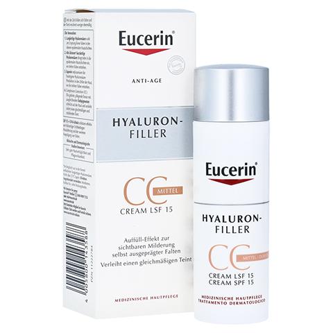 Eucerin Hyaluron-Filler CC Cream Mittel 50 Milliliter