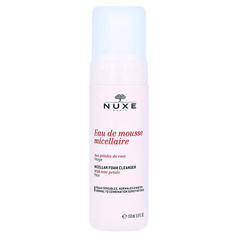 NUXE Mizellen-Reinigungsmousse mit Rosenblüten 150 Milliliter