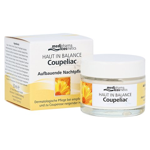 medipharma Haut in Balance Coupeliac Aufbauende Nachtpflege 50 Milliliter