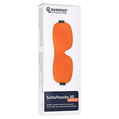 OHROPAX Schlafmaske 3D orange 1 Stück