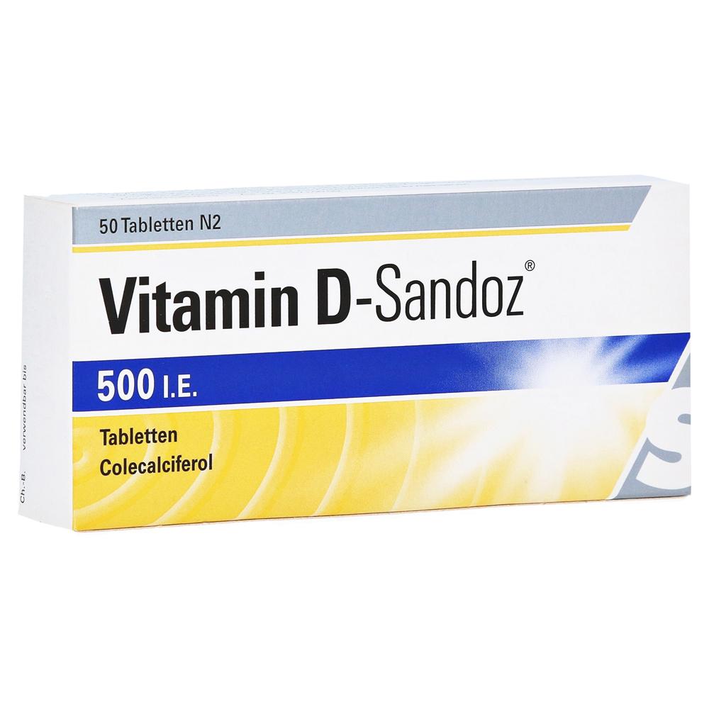 vitamin d sandoz 500 i e tabletten 50 st ck n2 online. Black Bedroom Furniture Sets. Home Design Ideas
