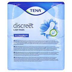 TENA LADY Discreet Einlagen extra plus 16 Stück - Rückseite