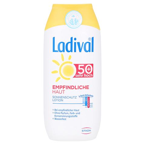 LADIVAL empfindliche Haut Lotion LSF 50+ 200 Milliliter