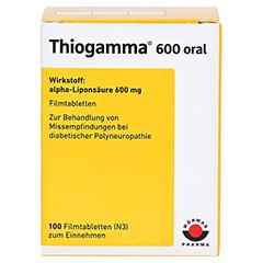 Thiogamma 600 oral 100 Stück N3 - Vorderseite