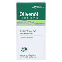 Olivenöl Per Uomo Gesichtscreme 50 Milliliter - Vorderseite